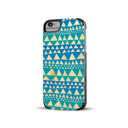 Printed Triangle Bamboo iPhone 6 Case
