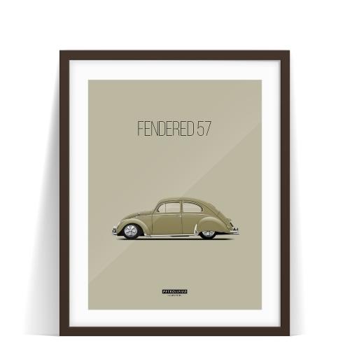 FENDERED '57. RESTO-CAL GOODNESS.