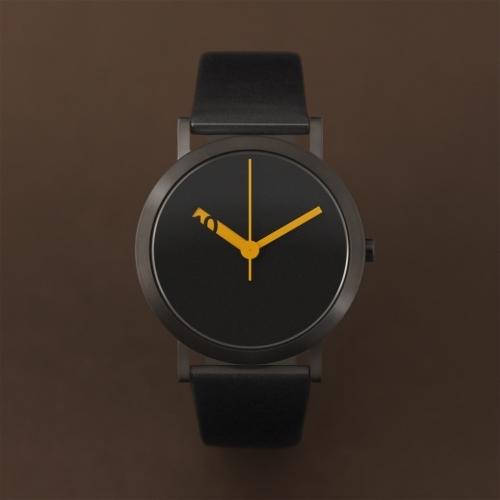 Extra Normal Grande Black/Amber | Normal watch | Timepieces
