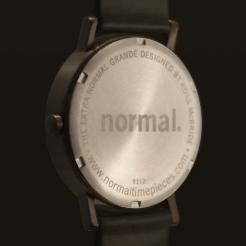 Extra Normal Grande Black/Amber | Normal watch | Timepieces