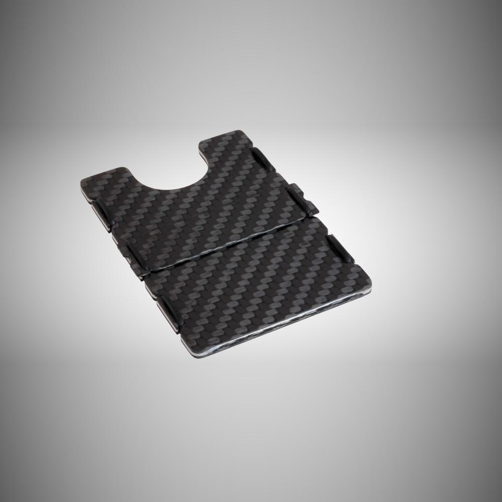 RIFD Carbon Fiber Wallet - Black, Slimtech