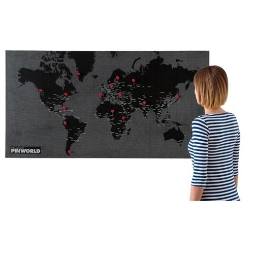 Pin World - Black