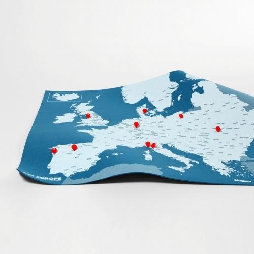 Pin Europe - Blue