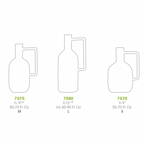 Boccia Blown-Glass Bottle   Atipico