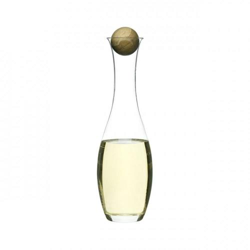 White Wine Carafe with Oak Stopper