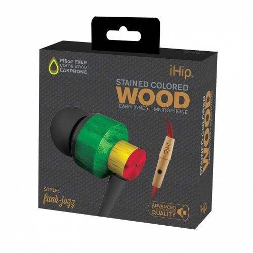 Funk Jazz Wood Earphone
