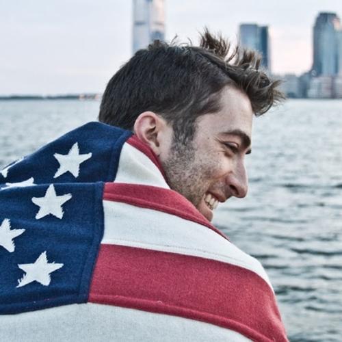 Wool American Flag