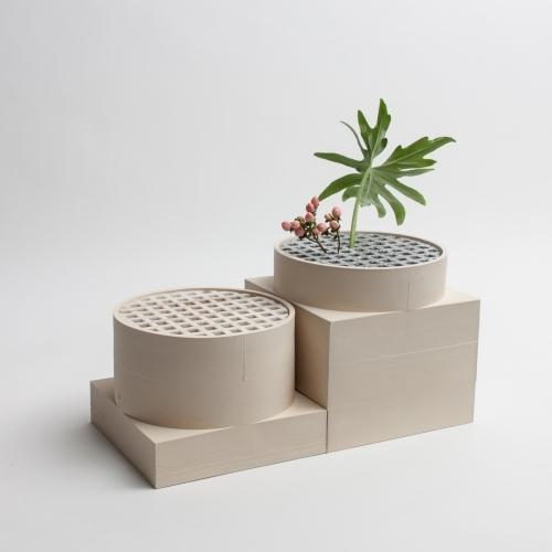 Short Utility Vase | Cream | Luur