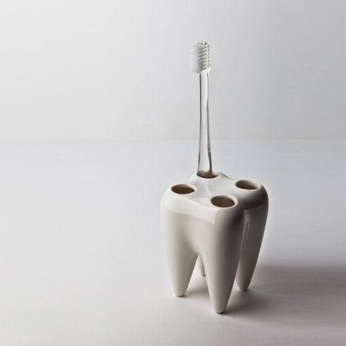Toothbrush Holder, White