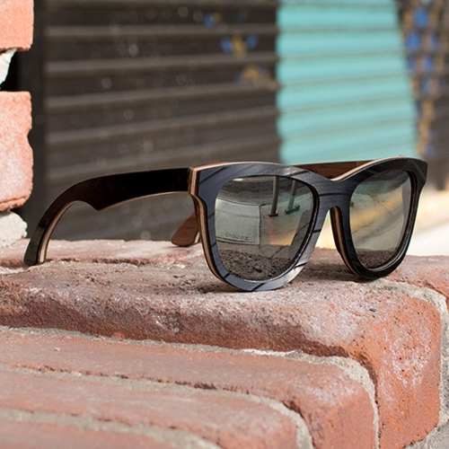 Birch Sunglasses   Bombay Vinyl Record Sunglasses   Parkman