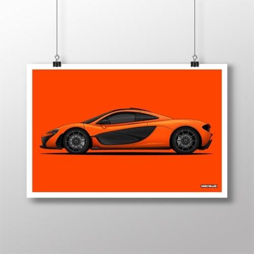 McLaren P1 Print