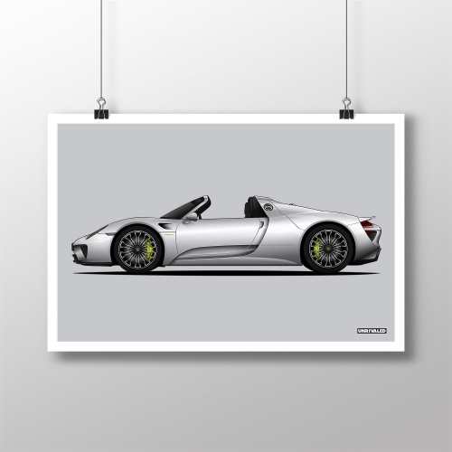 Porsche 918 Spyder Print