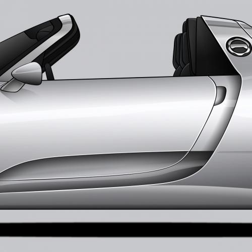 Porsche 918 Spyder Print, Unrivaled