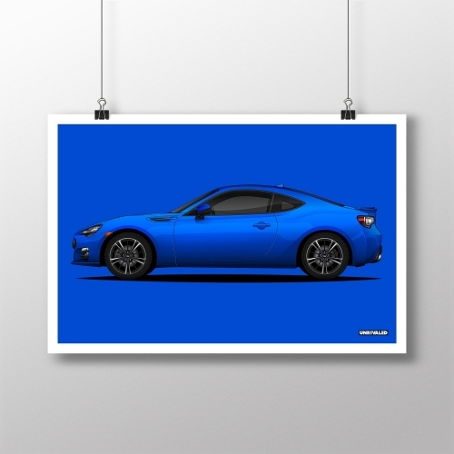 Subaru BRZ Print