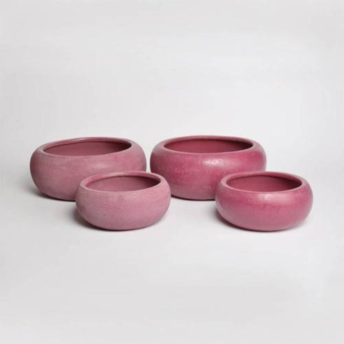 Micmac Bowl Set of 2, Dark Red