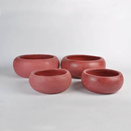Micmac Bowl Set of 2, Red