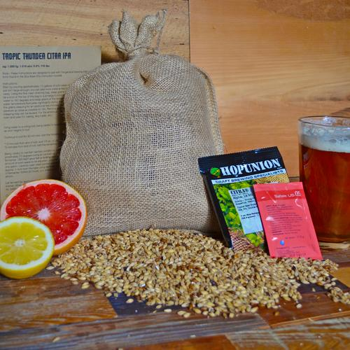 Recipe Pack | Tropic Thunder Citra IPA