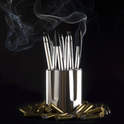 Choose Your Bullets - A Desk Accessory that Empowers our Thoughts
