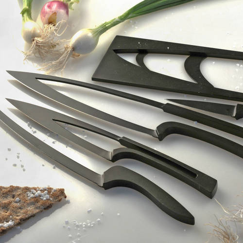Meeting Knife Set of 4   Deglon  Teflon Coated Steel