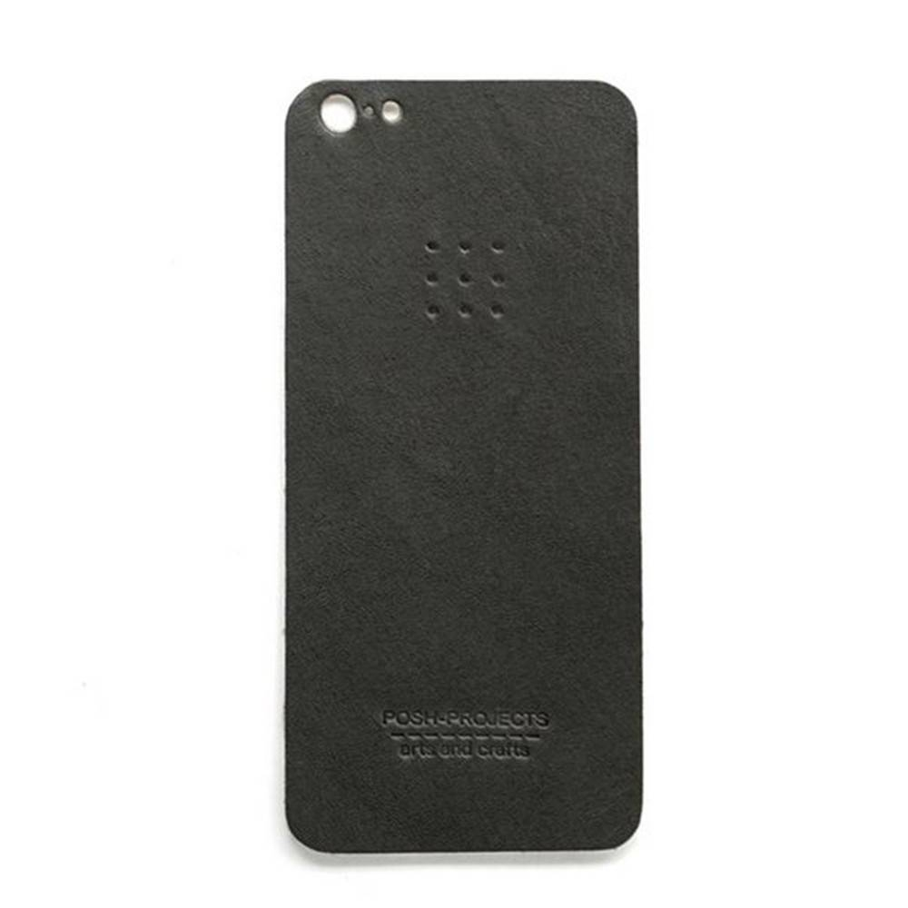 503 iPhone 5 Leather Skin, Charcoal - Leather iPhone Skin