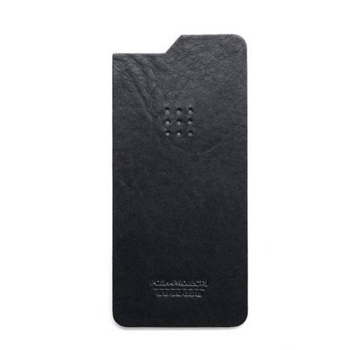 504 iPhone 6 Leather Skin, Black