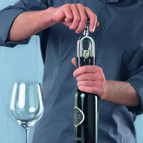 Vino Variable Corkscrew - A Corkscrew that Adapts to all Bottle Necks