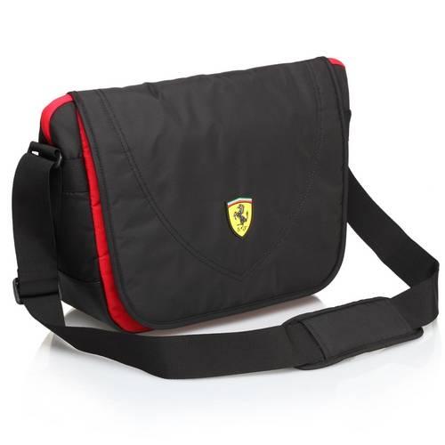 Travelers Messenger Bag, Black