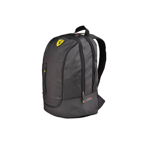Black Santander Backpack - Ferrari