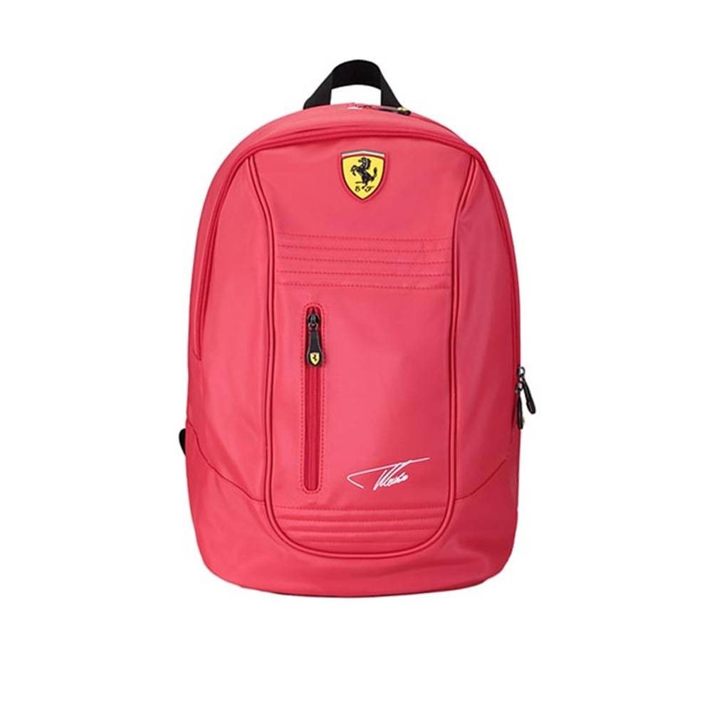 Alonso Santander Signature Backpack - Ferrari
