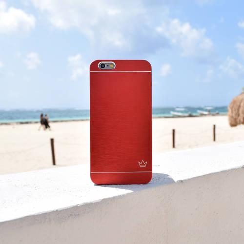 Slim Aluminum iPhone Case | Red | Krown