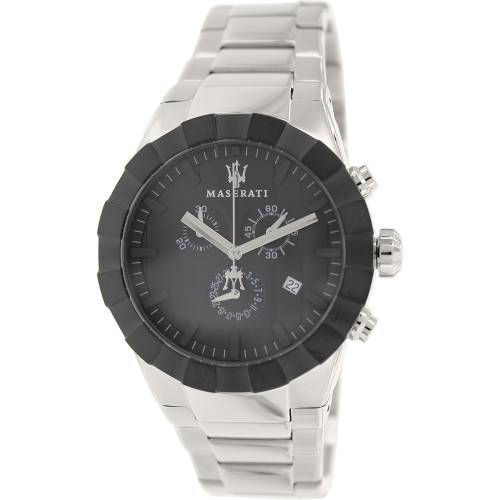 Tridente Silver Stainless Steel Swiss Watch