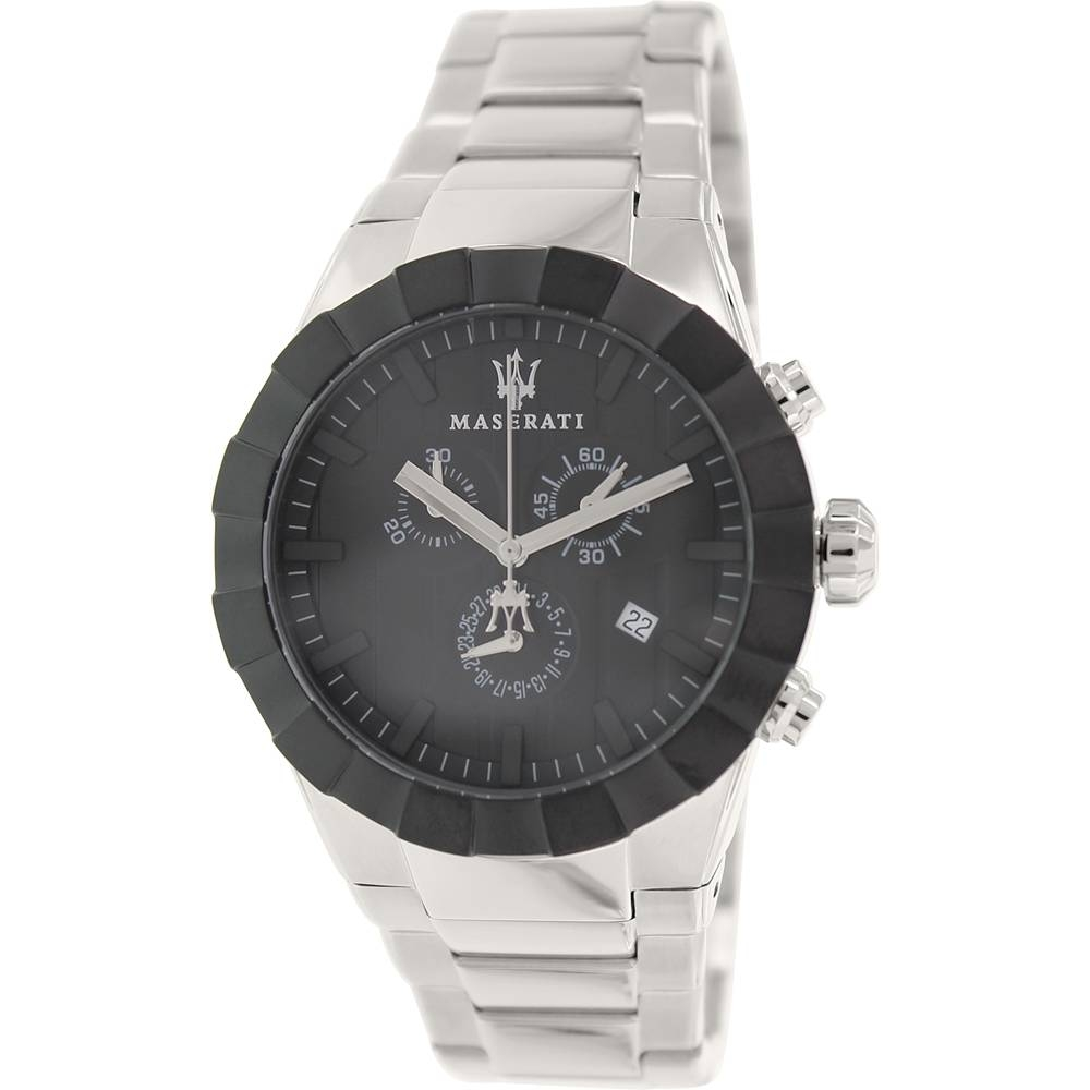 Tridente Silver Stainless Steel Swiss Watch - Area Trend