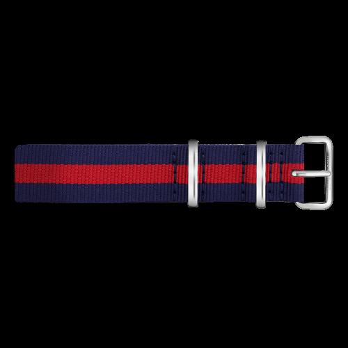Silver Line Watch, Navy/Red - Paul Hewitt