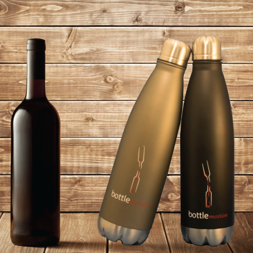 Portable Decanter | Wine Decanter Grey 750ml | Bottle Motion