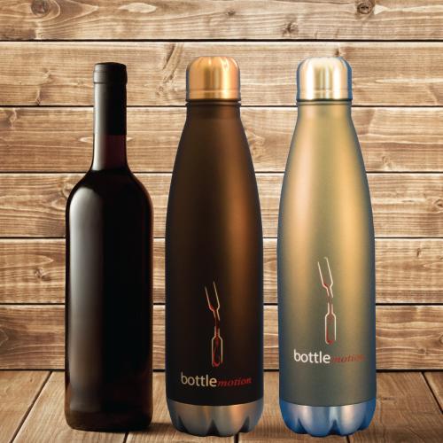 Portable Decanter   Wine Decanter Grey 750ml   Bottle Motion