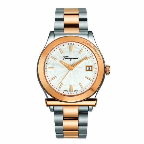 Ferragamo 1898 Silver Watch