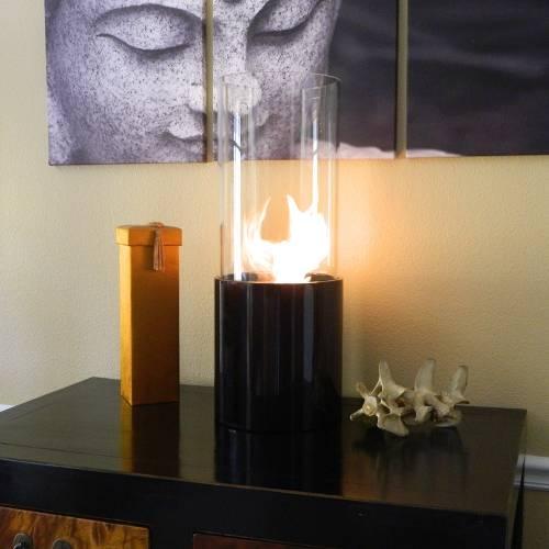Doppio Noir Fireplace
