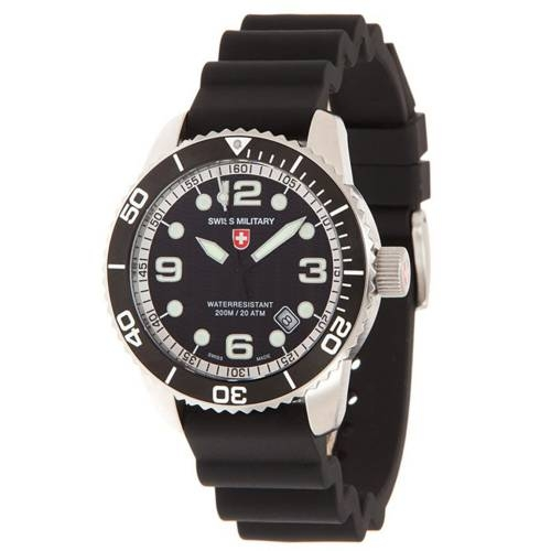 Swiss Military Watches - MARLIN SCUBA, Black