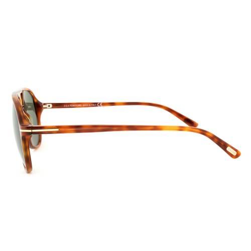 Tom Ford TF331 52N Jared Havana Aviator Sunglasses