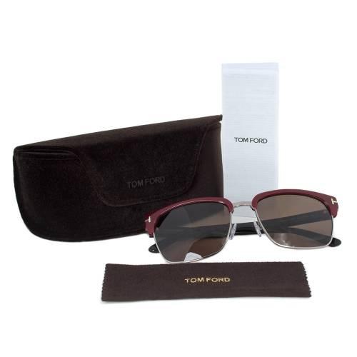 Tom Ford TF367 70J Sunglasses | Mahogany/Gunmetal Frame