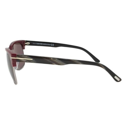 Tom Ford TF367 70J Sunglasses | Mahogany/Gunmetal Frame