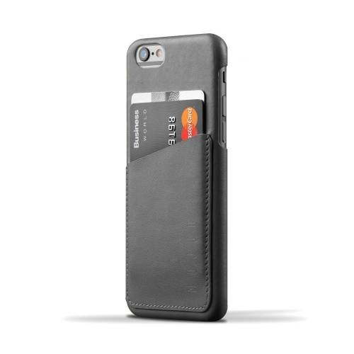 Leather Wallet Case for iPhone 6(s) | Gray