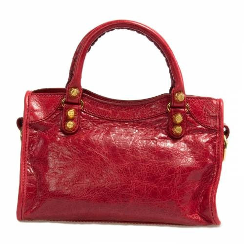 Balenciaga Mini Red City Tote