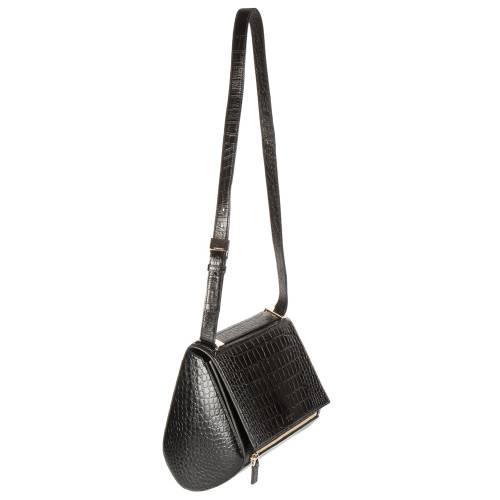 Givenchy Croc Embossed Medium Pandora Bag