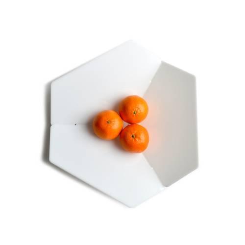Trièdre-Hexagon, White