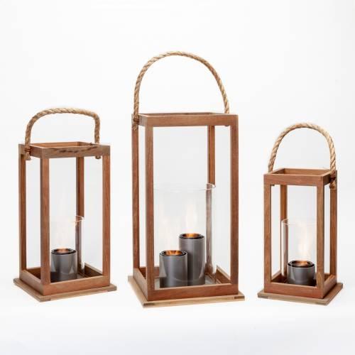 Sonoma Lantern in Ipe Wood