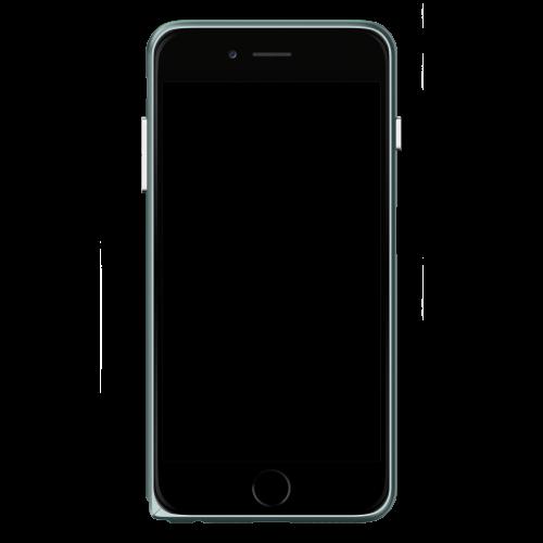 Slim Aerospace Aluminum Bumper for iPhone 6s, Space Gray