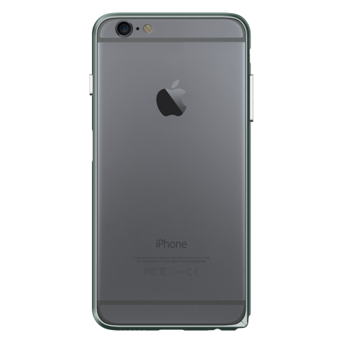 Slim Aerospace Aluminum Bumper for iPhone 6s, Space Gray