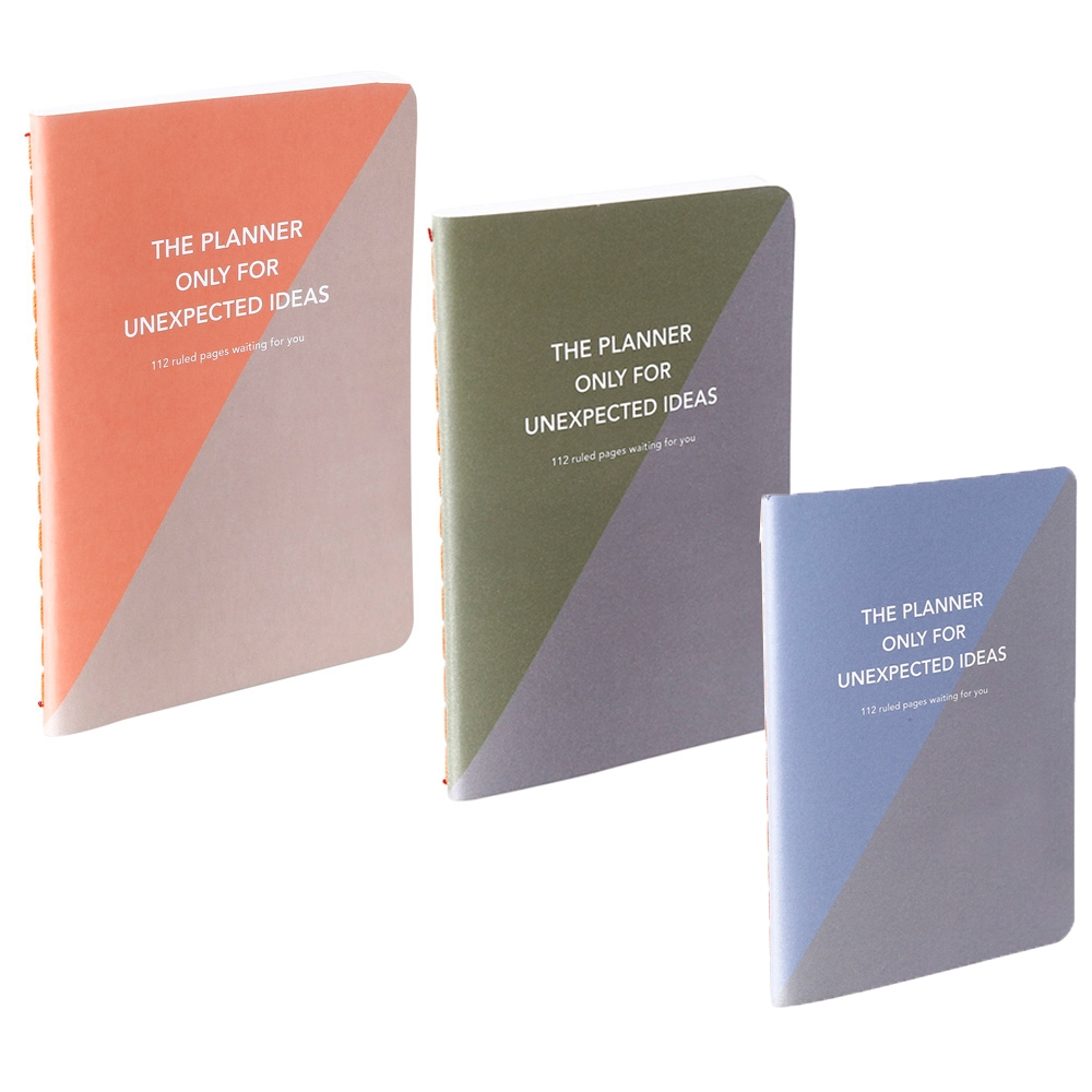 The Planner pocket for Unexpected Ideas Set of 3