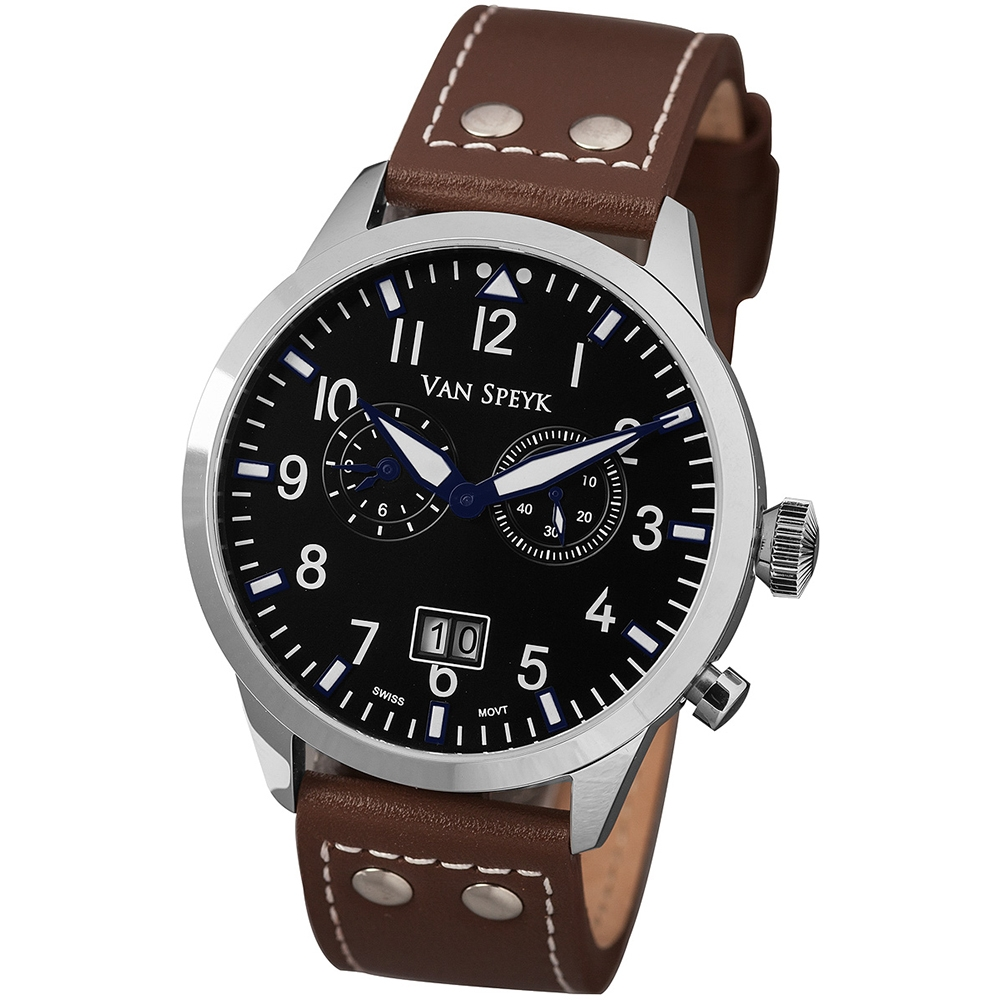 Van Speyk Dutch Pilot CZ Watch